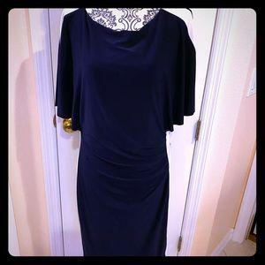 Ralph Lauren color block black&white dress size16
